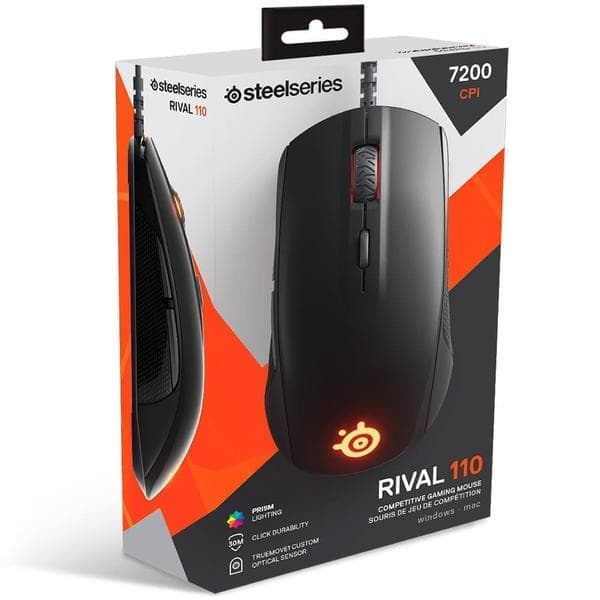 Мышь SteelSeries Rival 110 Black