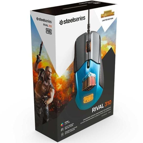 Мышь SteelSeries Rival 310 PUBG Edition