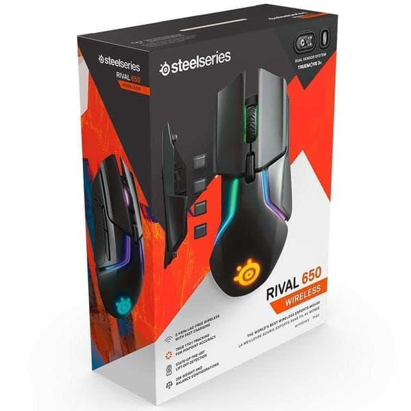 Мышь SteelSeries Rival 650 Wireless